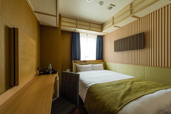「和」をコンセプトとしたジャパニーズモダンルーム。日本・東京での滞在を豊かに。