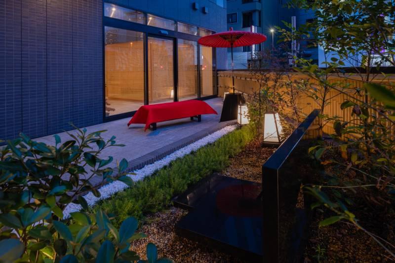 ロビーテラスやルーフテラスなど、ご宿泊者様にご利用いただけるパブリックスペースを備えたホテルがございます。